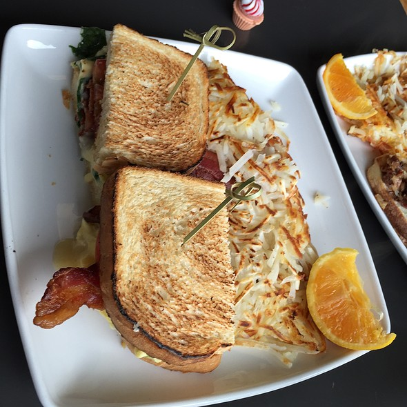 Breakfast Sandwich With Bacon @ Lowell's Restaurant