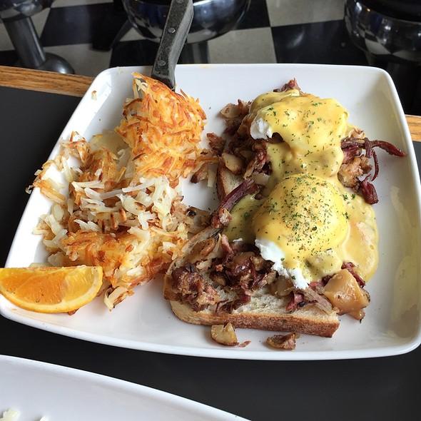 Corned Beef Hash Eggs Benedict @ Lowell's Restaurant