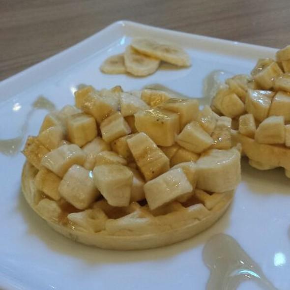 Banana Waffle @ Pandaréu
