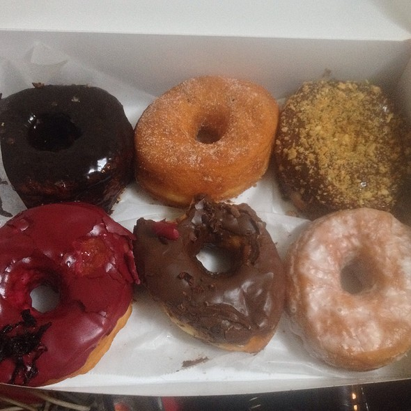 Doughnut Assortments @ Dough