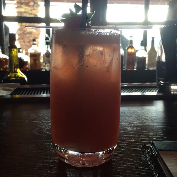 Champagne Cobbler - Sunset Terrace - Omni Grove Park Inn, Asheville, NC