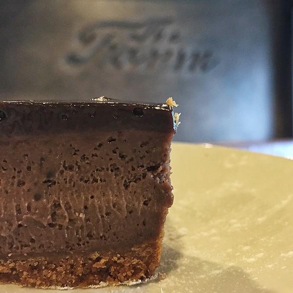 Chocolate Cheesecake @ The Farm Organics