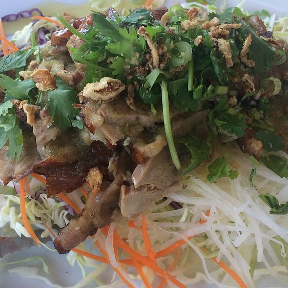 Duck Salad @ Dara Thai Lao Cuisine