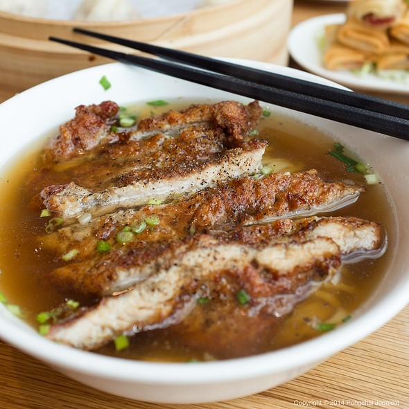 Pork Chop Noodle Soup @ Din Tai Fung @ Central Embassy