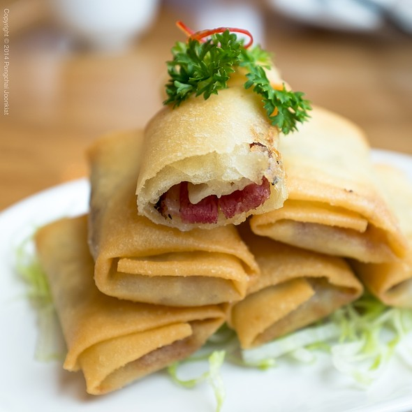 Sliced Duck In Crispy Spring Onion Pastry @ Din Tai Fung @ Central Embassy