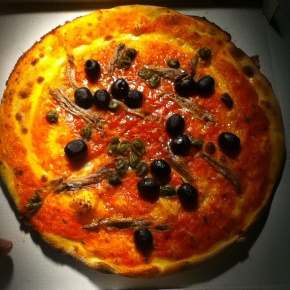 Pizza Napoli No Cheese