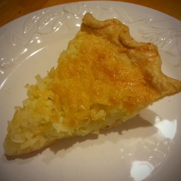 Coconut Slice @ Wimberley Pie Co