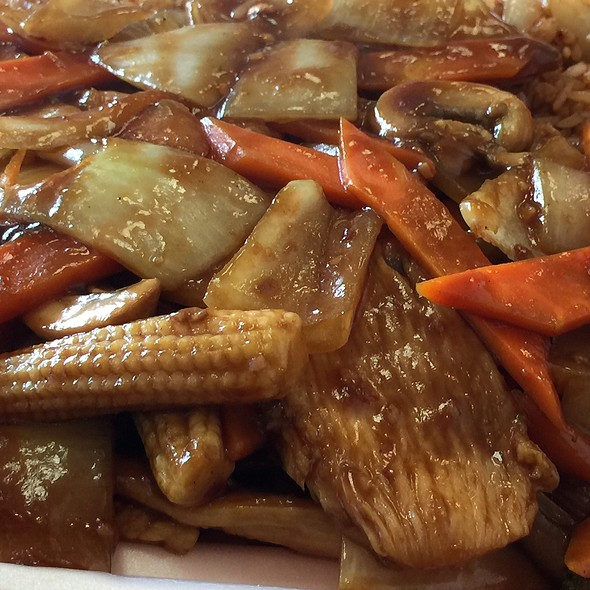 Schezuan Chicken @ Wen Cai Chinese Restaurant