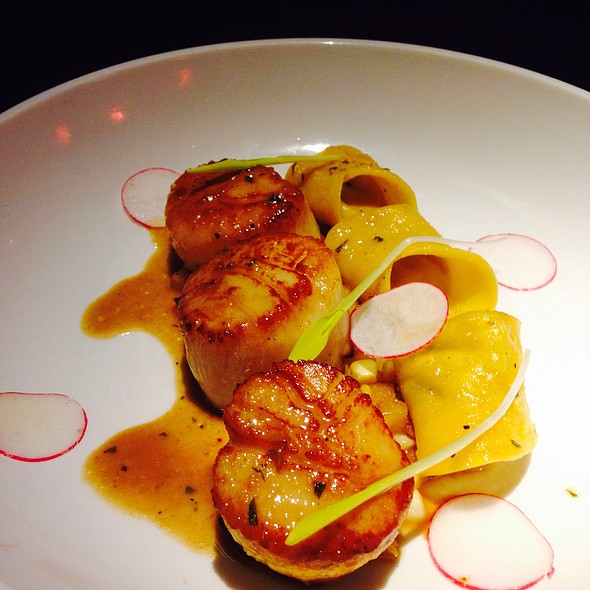 Seared Scallops - Bar Cento, Cleveland, OH