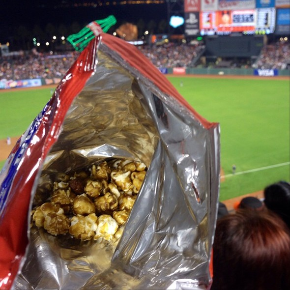 Cracker Jacks At ATT Park Home Of The San Francisco Giants