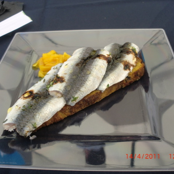 Lime marinated sardine @ Lisbon Fish & Flavours - Food Festival