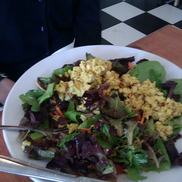 Curry Chicken Salad - The Park Restaurant, Los Angeles, CA