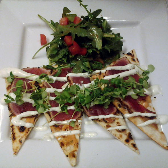 7 Spiced Tuna Flatbread