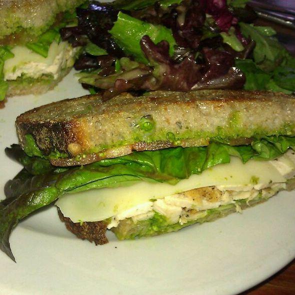 Grilled Chicken & Pesto Sandwich - The Park Restaurant, Los Angeles, CA
