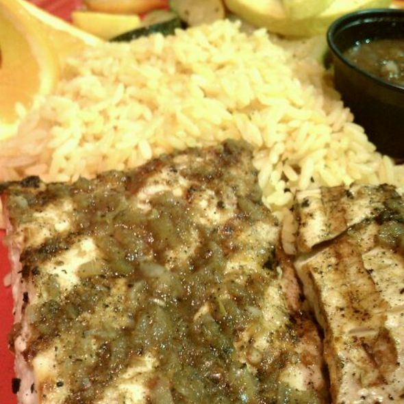 Jerk Mahi-Mahi @ Muddy Waters