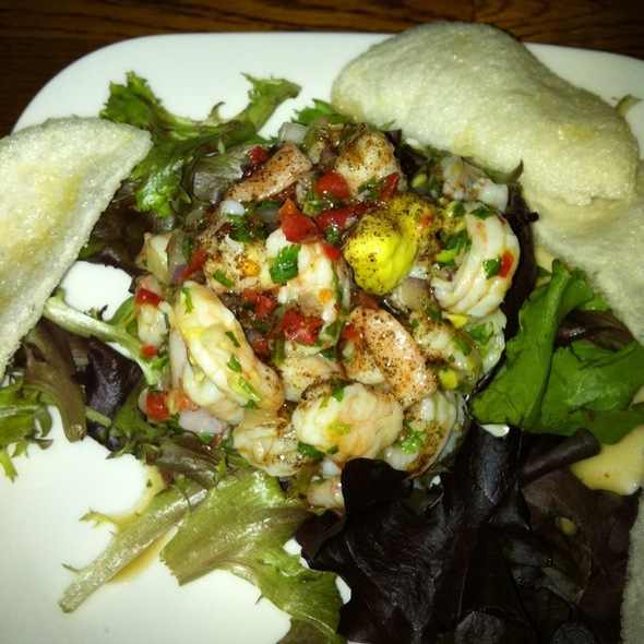 Shrimp Ceviche @ Carmel Cafe & Wine Bar
