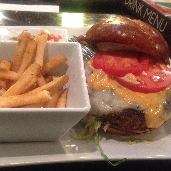 Pepper Jack Turkey Burger - Old Burdicks Bar and Grill, Kalamazoo, MI