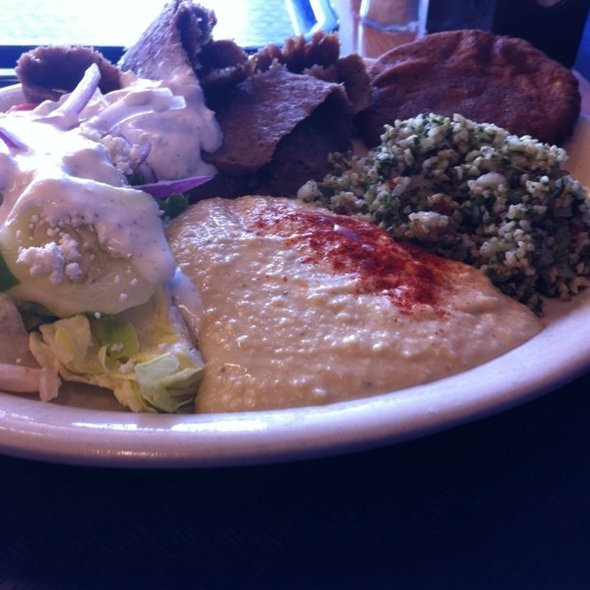 Gyro Plate @ Tino's Greek Cafe