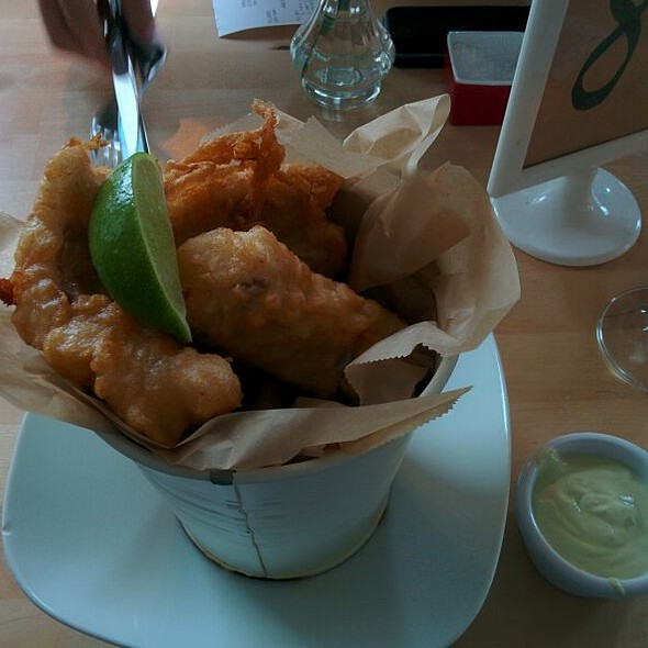 Fish and Chips @ Icelandic Fish and Chips