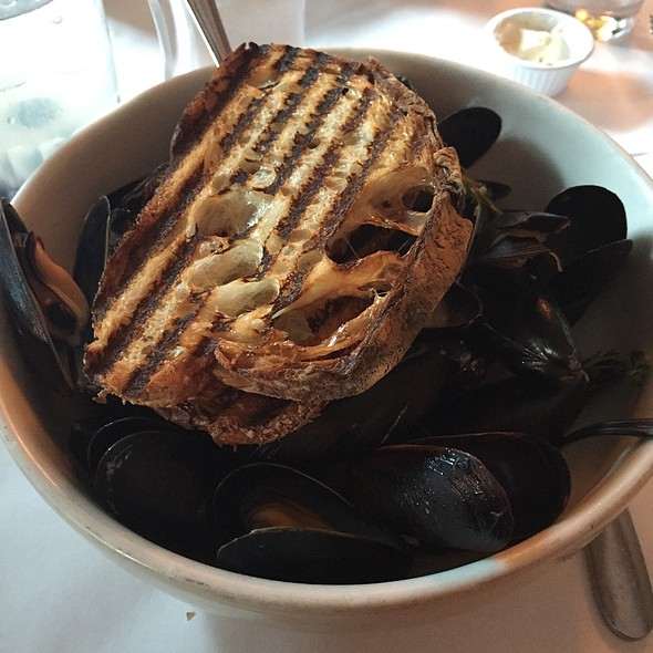 Mussels Provencale - Docks Oyster Bar and Seafood Grill, New York, NY