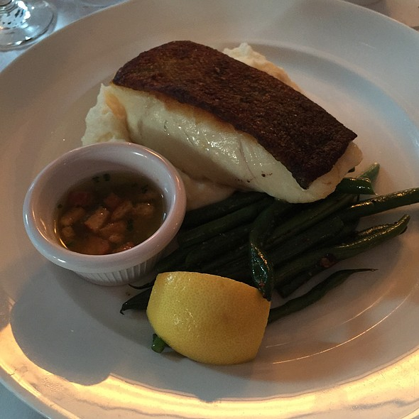 Pan Roasted Cod - Docks Oyster Bar and Seafood Grill, New York, NY