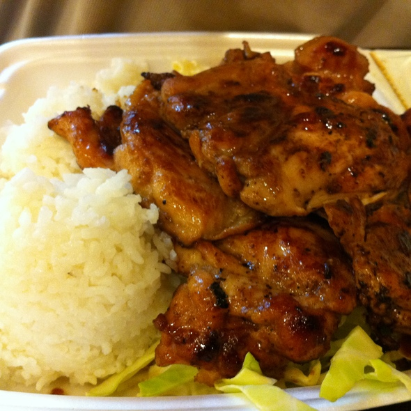 BBQ Chicken @ L & L Hawaiian BBQ