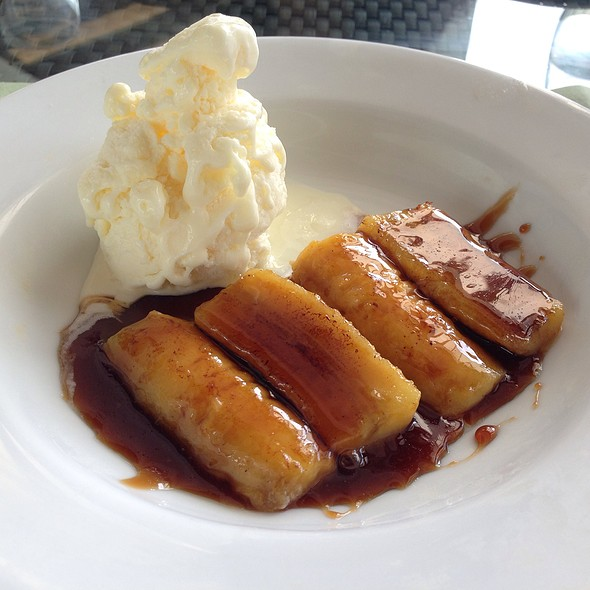 Coffee Banana Foster With Dark Rum @ Polo Bistro
