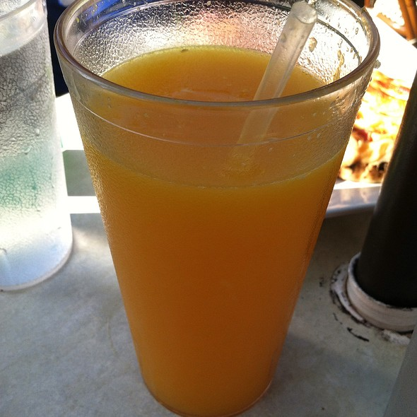 Freshly squeezed OJ @ La Provence, Miami Fl