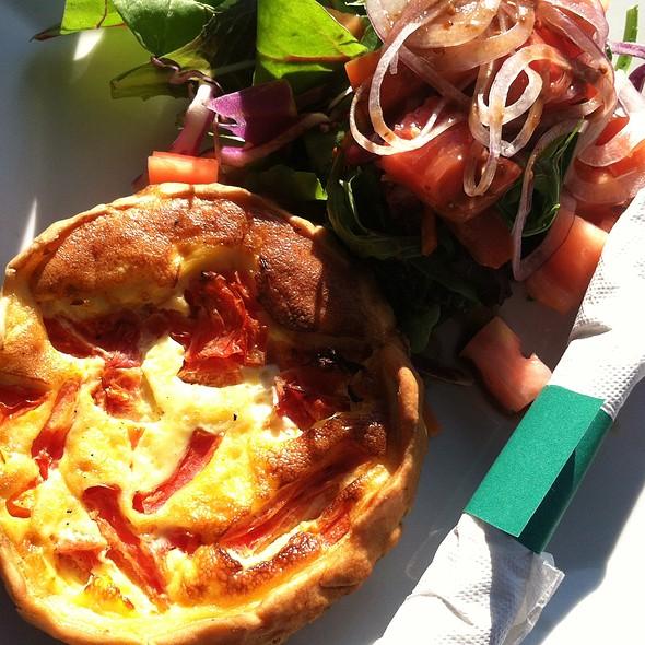 Tomato Mozzarella Quiche @ La Provence, Miami Fl
