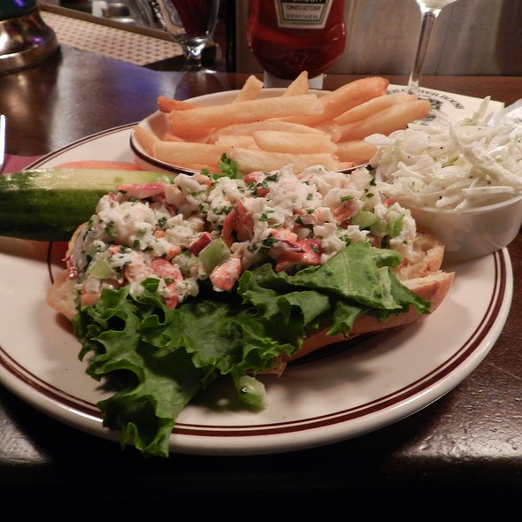 Lobster Salad Roll @ Union Oyster House