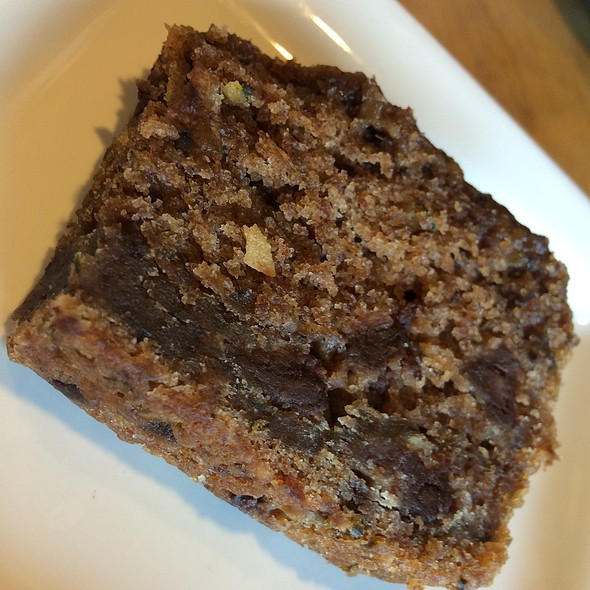 Zucchini Bread With Chocolate @ Bartertown Diner