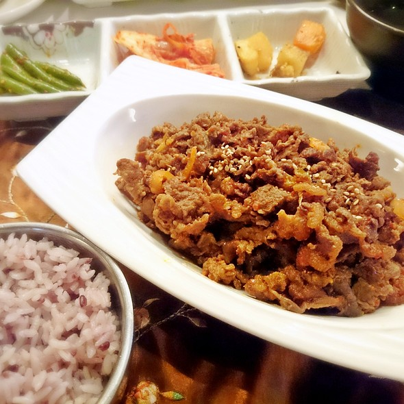 Spicy Pork Bulgogi @ Atti Restaurants