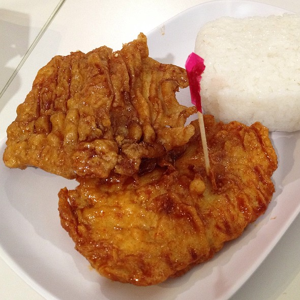 Chicken Chops With Rice @ BonChon
