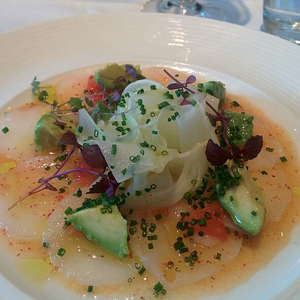 Carpaccio of Monkfish - Chez Bruce, London