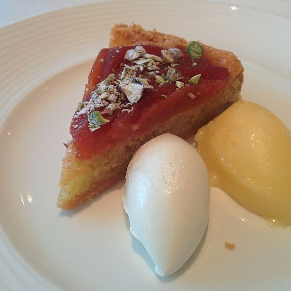 Almond And Quince Tart - Chez Bruce, London