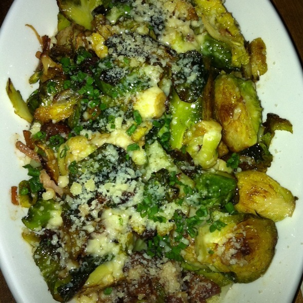 Brussel Sprouts W Bacon @ Gilt Bar