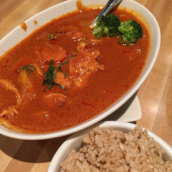 Chicken Panang Curry @ KOON THAI KITCHEN