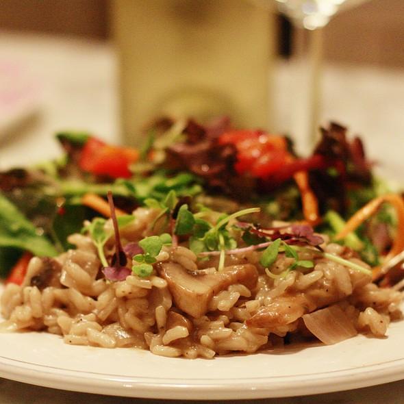 mushroom risotto @ Sar's Kitchen