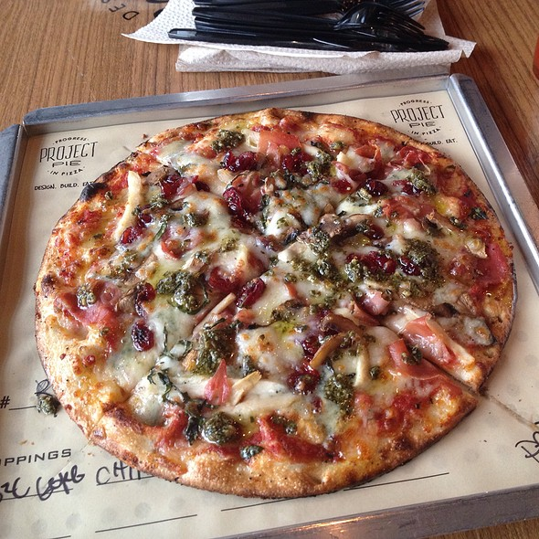 Build Your Own Pizza @ Project Pie Parksquare