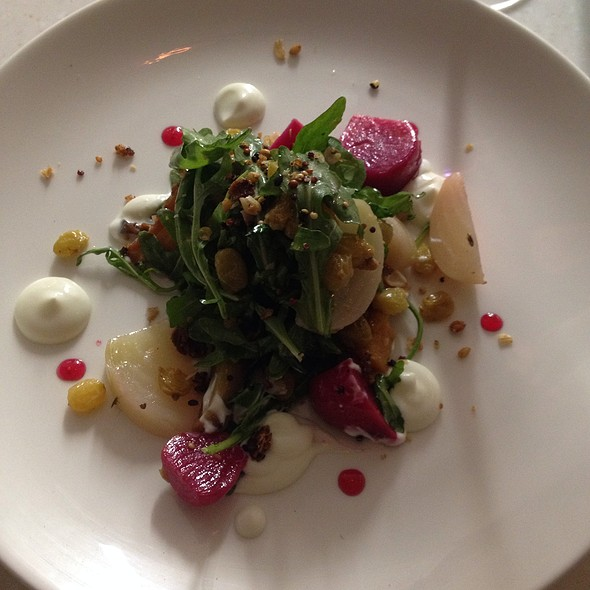 Heirloom Root Vegetable Salad @ Mercantile Dining & Provisions