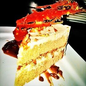 Salted Caramel Cake - Indulge Bistro and Wine Bar - Golden