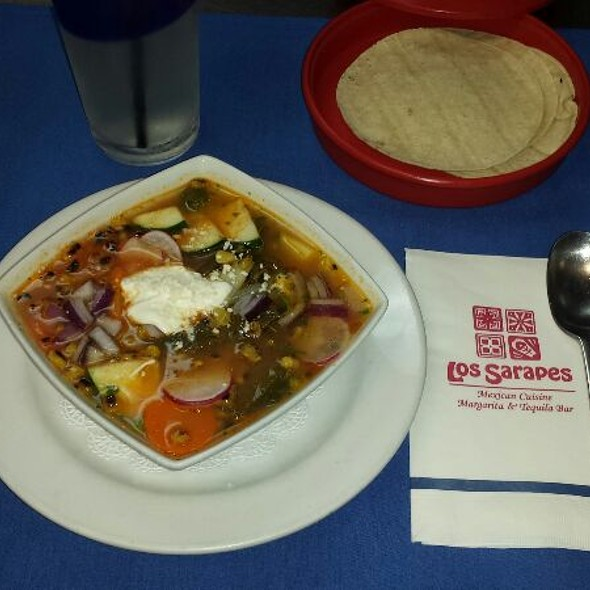 Caldo De Vegetales  @ Los Sarapes At Horsham Mexican