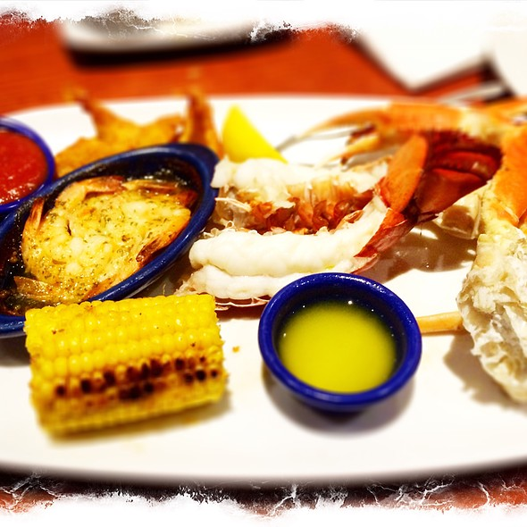 Lobster And Seafood Combo @ Red Lobster Times Square
