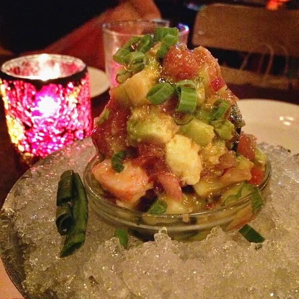 Maui Style Ahi Poke @ Rock'N Fish Restaurant