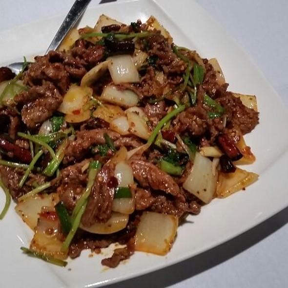 Spicy Cumin Lamb @ Lan Sheng Restaurant
