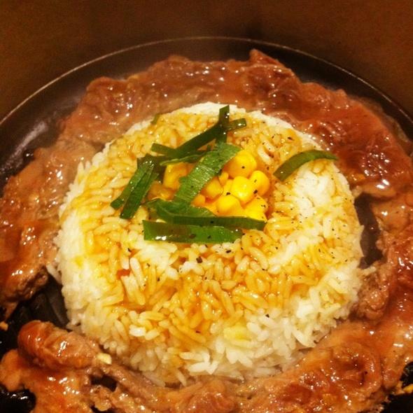 Beef Pepper Rice @ Sizzlin' Pepper Steak