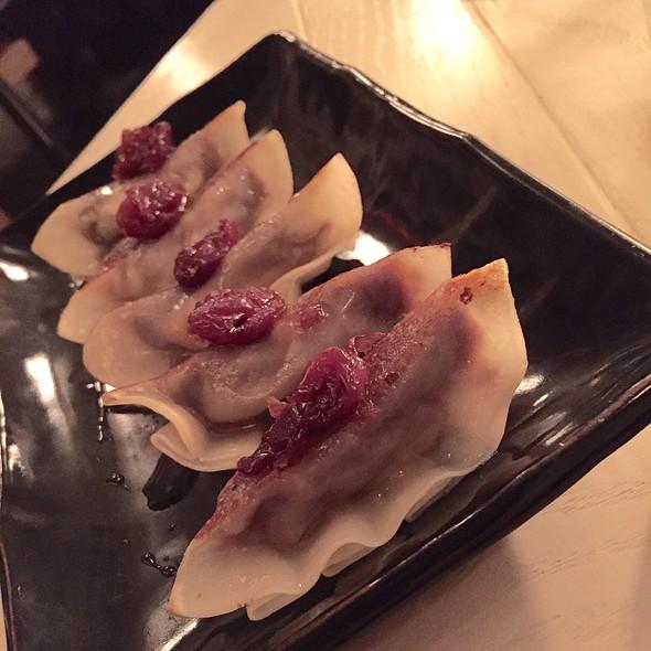 Foie Gras/Short Rib Gyoza @ Cherry Izakaya