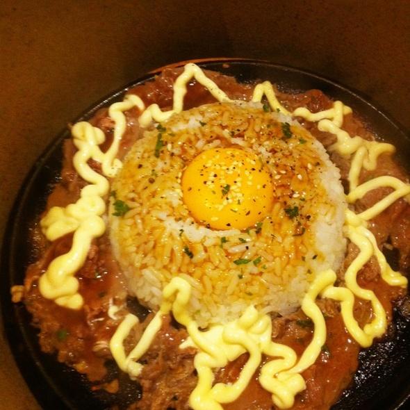 Gyuniku Beef Pepper Rice @ Sizzlin' Pepper Steak