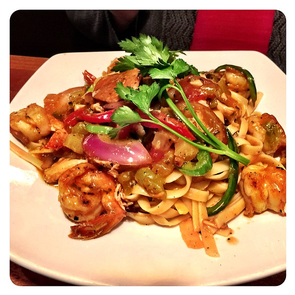 Jambalaya Pasta @ Claim Jumper Restaurant