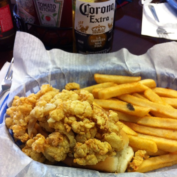 Clam Strip Roll @ Bates New England Seafood